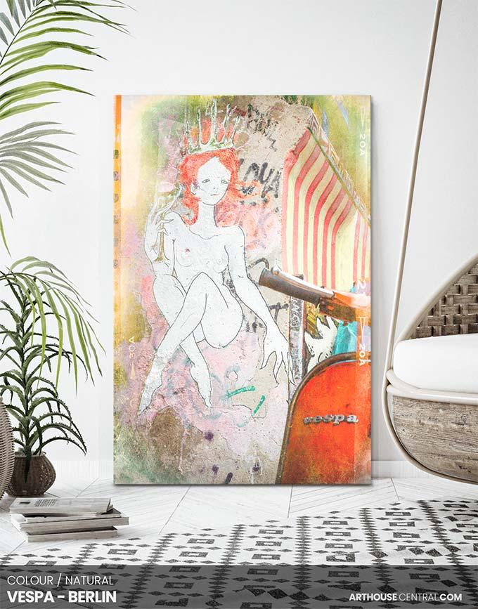 vespa-&-street-art-berlin-canvas-designer-print-#188-room-view-custom-canvas-print