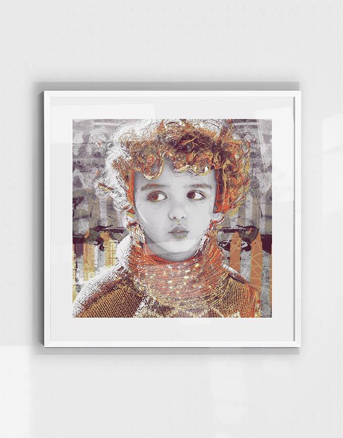 pop-art-graphic-portrait-#156-custom-canvas-frame