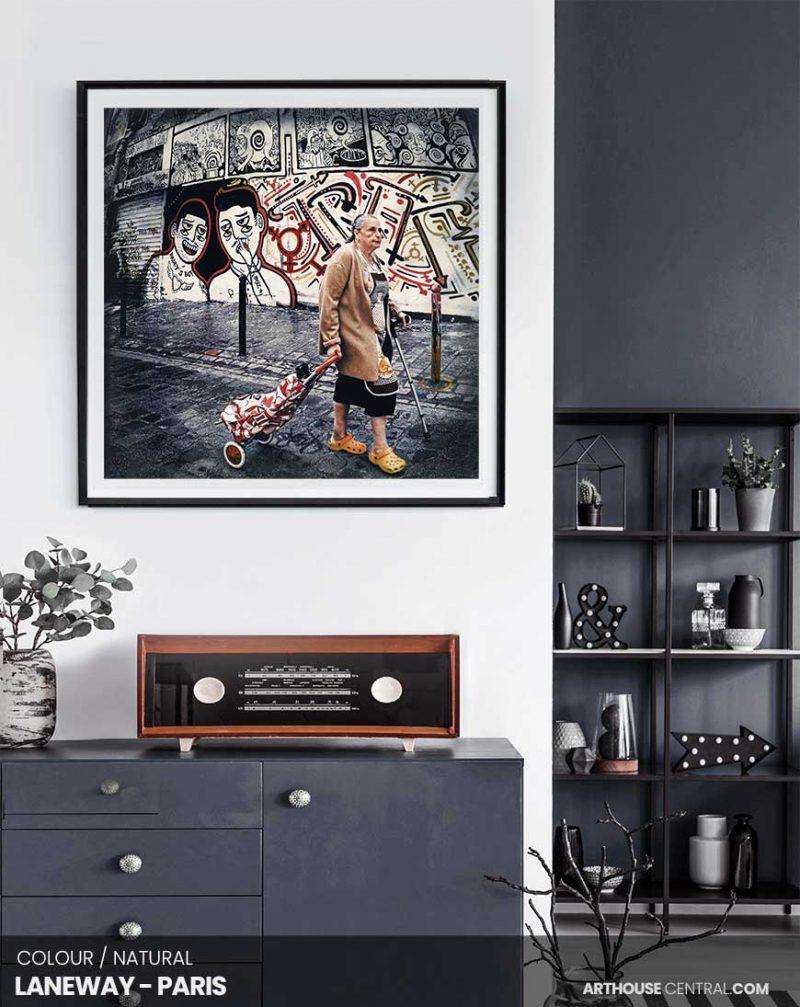 laneway-paris-setting-custom-canvas-print
