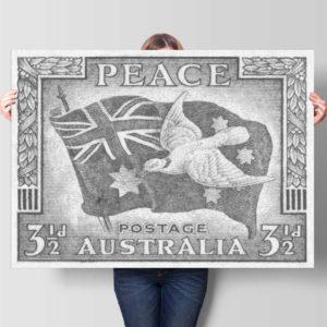 peace-stamp-australia-Show-#278-custom-canvas-print