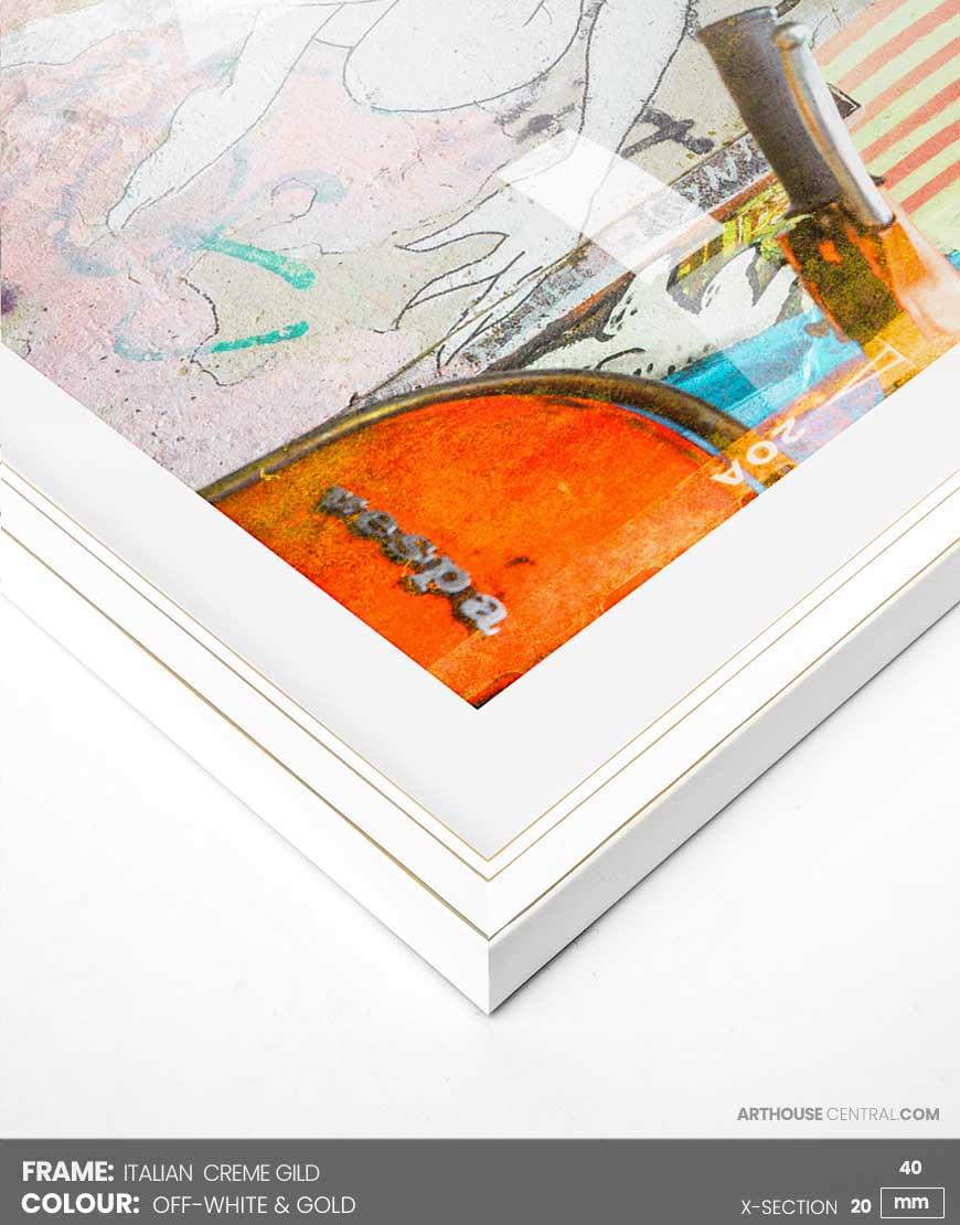 Size 40 X 80 Cm 16x 32 Italian Gild Frame Arthouse Central