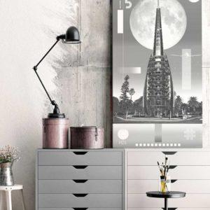 perth-bell-tower-1124-black-and-white-custom-custom-canvas-print