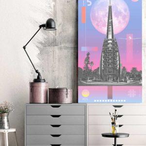 perth-bell-tower-1124-sky-custom-canvas-print