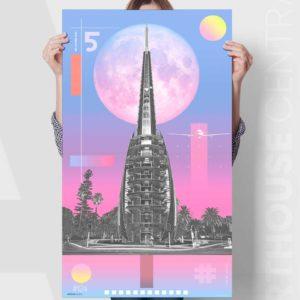 perth-bell-tower-1124-sky-colour-custom-canvas-print
