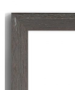 Weathered Grey - #B104 - timber picture frame - Closeup View