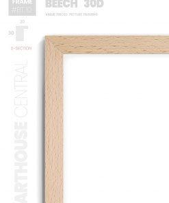 Beech 30D - #BT10 - timber picture frame - Details View