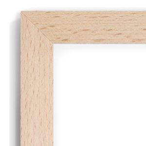 Beech 45D - #BT31 - timber picture frame - Closeup View
