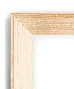 Beech Goldtop 45D - #BT34 - timber picture frame - Closeup View