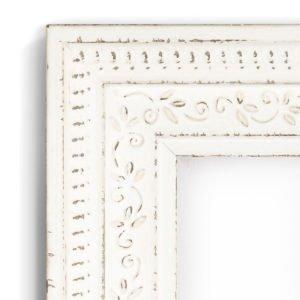 Federation White - #VW87 - white picture frame - Closeup View