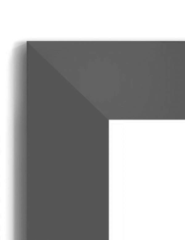Matt Black 4030 - #B887 - black picture frame - Closeup View