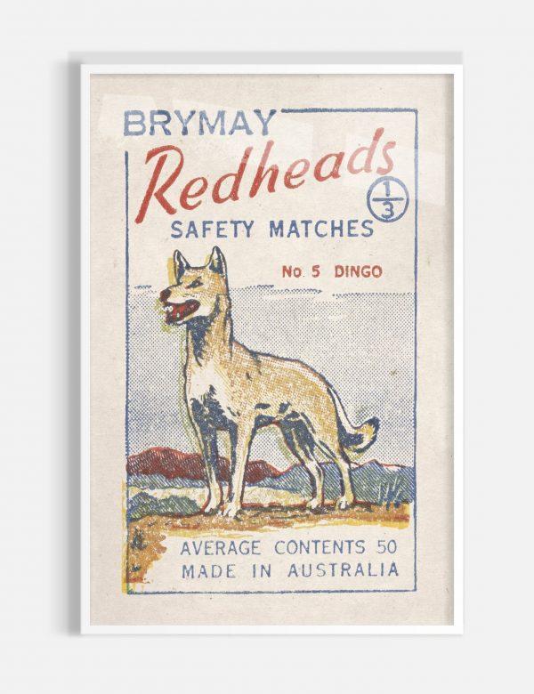 Dingo White Frame
