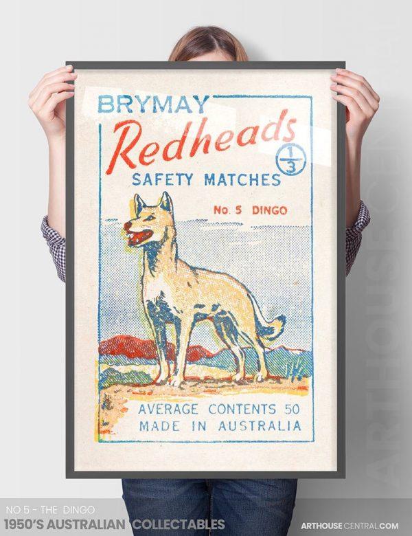 Mid Century Australian Framed Art No 5