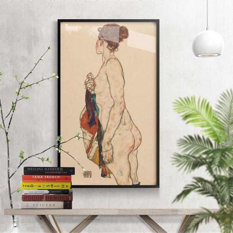 Print of Egon Schiele