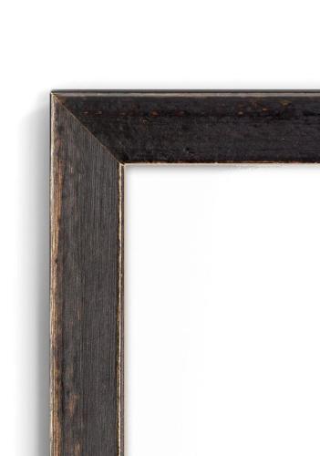 Burnt Ochre - #B723 - black picture frame - Closeup View